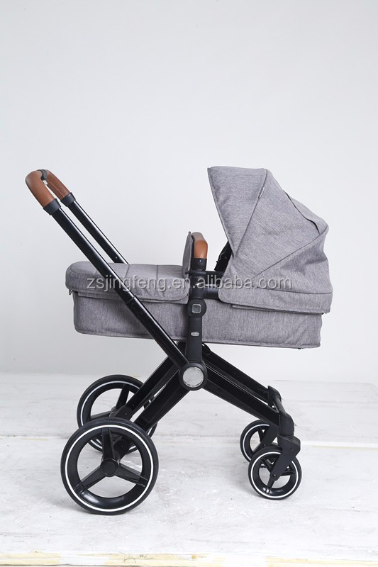 2017 Popular Big Wheels European Luxury Pram Stroller 3 in 1 For Baby