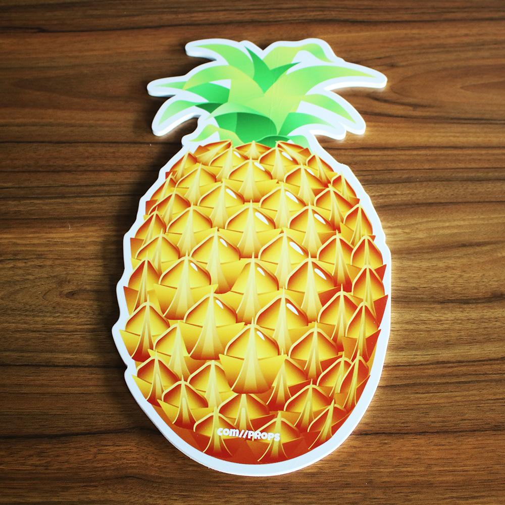 Wholesale high quality sunproof foam board cartoon pineapple design waterproof foam board