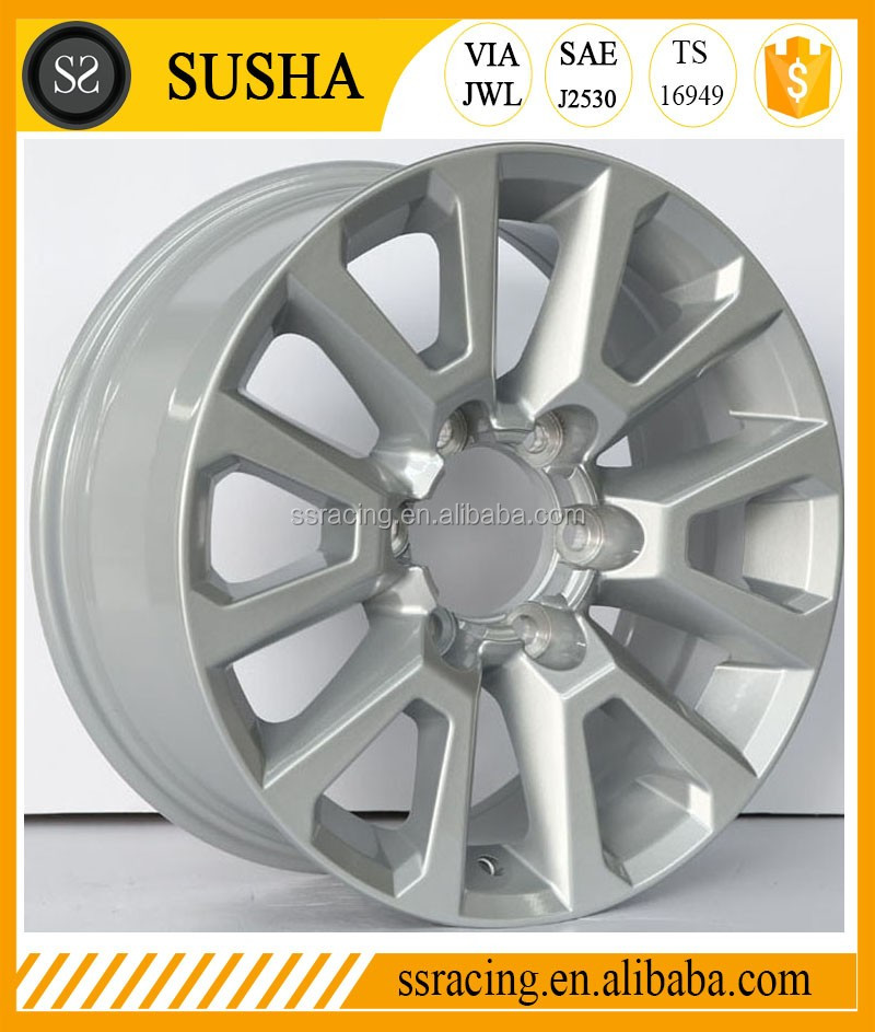 17, 18 and 20 inch replica aluminum alloy wheel rim for LandCruiser Prado