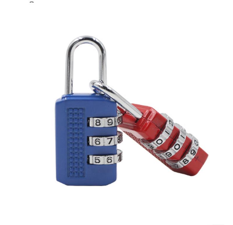Hotaluyt 3 d/ígitos combinaci/ón del candado de Equipaje Caja de la Cerradura de Metal de contrase/ña Segura c/ódigo de desbloqueo