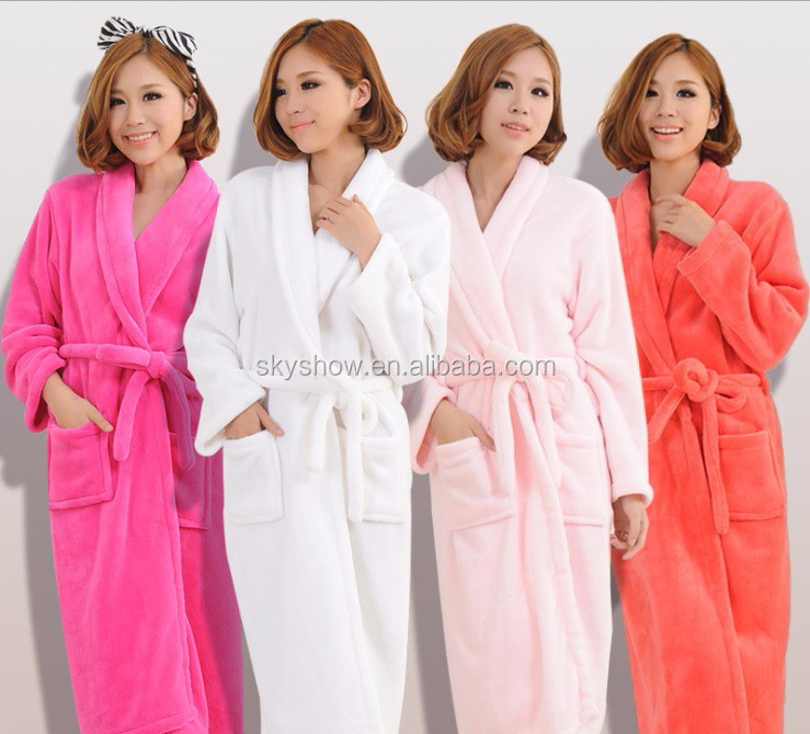 Welcome Wholesales Super Absorption organic cotton bathrobe for hotel