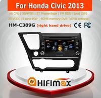 Hifimax car dvd audio navigation system FOR Honda Civic 2013 (right hand drive)
