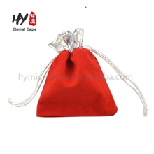 Multifunctional custom gifts promotional bags velvet pouch