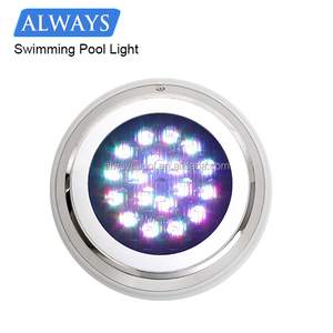 Waterproof IP68 RGB underwater lamp swimming pool led lights
