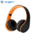 Free Sample Rechargeable Headset Ce Rohs Wireless Gold Headphone With Bluetooth