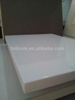 Bevel Edge White High Gloss Painted Finish Kitchen Cabinet Doors