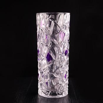 Wholesale Brilliant Glass Vase Crystal Glass Decoration Creative
