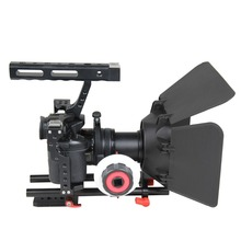 YELANGU Apparecchiature Video Maniglia DSLR Rig Video Camera Cage Kit Per GH4, <span class=keywords><strong>A7S</strong></span>
