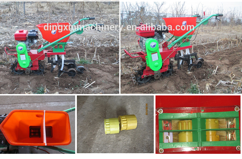 2016 new design Corn and maize seeder planter with itself engine