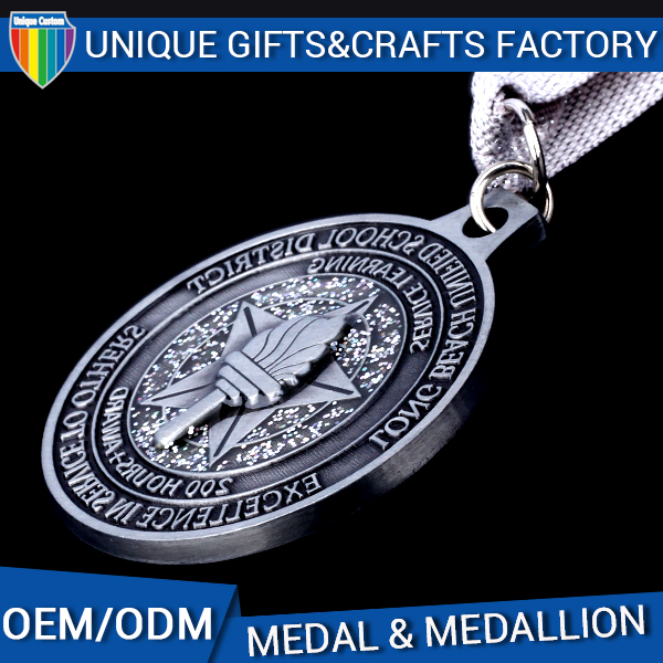 Fashion style custom metal china manufacturer for medal