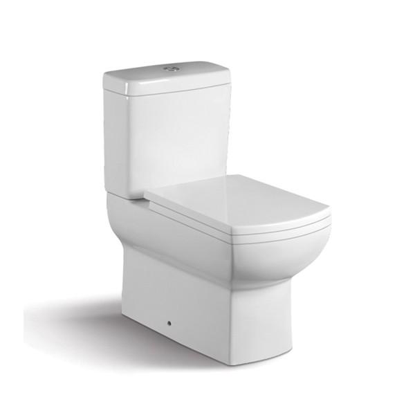 Bathroom Fittings Ceramic Sanitary Ware Two Piece Toilet