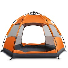 Familie Size 5-8 Persoon 3 Seizoen Waterdichte Dubbele Laag <span class=keywords><strong>Camping</strong></span> Tenten