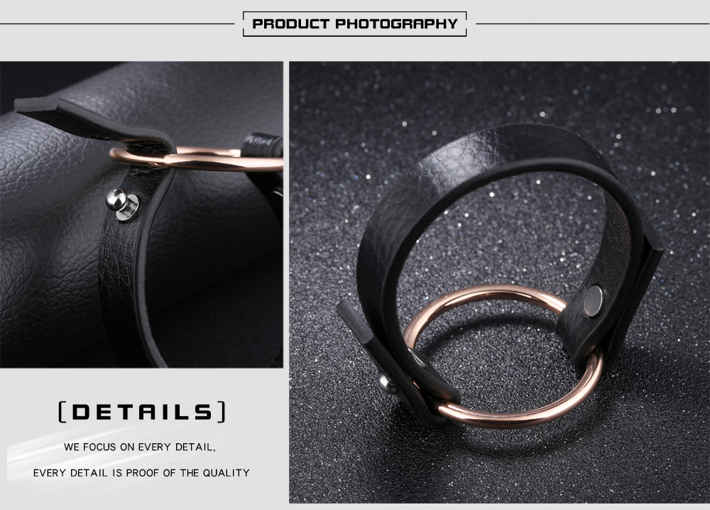 Wholesale Fashion Genuine Leather Women Bracelet, Personalized Bracelet Leather Women Jewelry