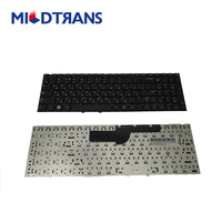 Hot sell Russian Laptop Internal keyboard for SAMSUNG 300E5A