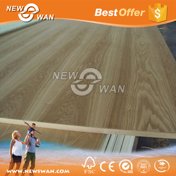 Wood Veneer Laminated Paneling / MDF Board