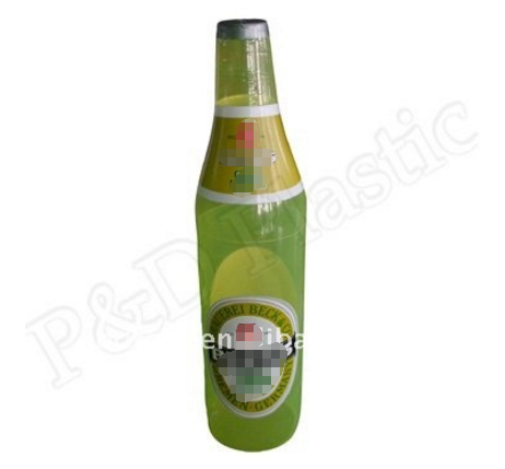 Promotional advertising inflatable bottle on sale