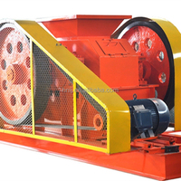 2 rollers crusher/roll crusher for quartz crushing