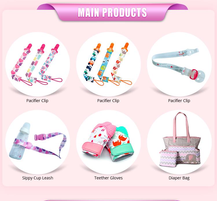 최고의 판매 남여 아기 제품 도매 젖꼭지 클립 4 갑