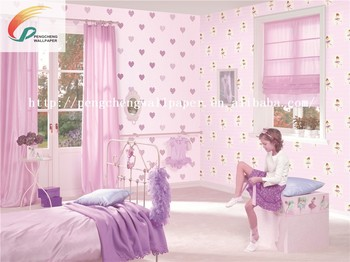 Lovely Gril Wallpaper Decorative For Kids Room Decoration Bathroom Wallpaper Kids Kids Bedroom Wallpaper Buy Bathroom Wallpaper Kidskids Bedroom