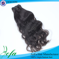 alibaba hot sale unprocessed double drawn virgin brazilian hair weave
