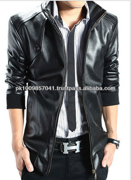New Style Leather Jacket For Men - Buy New Style Leather Jacket ...