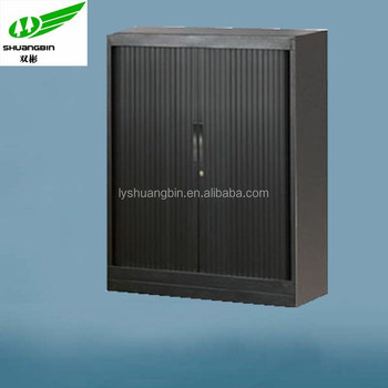 half height cheap bulk filing storagekd office rattan file cabinets with roller doors