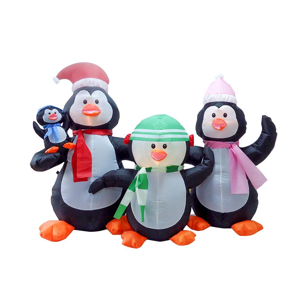 Heiße Aufblasbare Weihnachtsschneemann Pinguin Familie Kleine ...