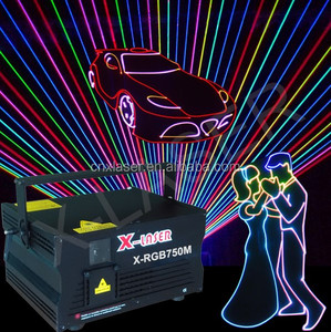 Digital Sound Active 5W Full Color Laser Light Effect/Disco Light/DMX Christmas Light Controller