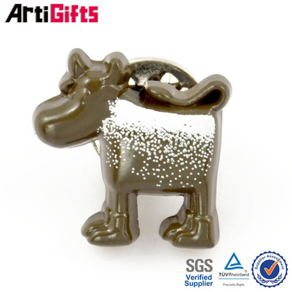 From china manufacture cheap metal helping children learn badge