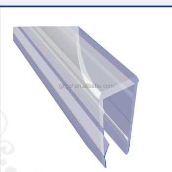 waterproof shower door seal strip for 135 degrees glass