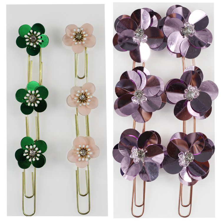 Custom vormige rose goud papier clip decoratieve metalen clips