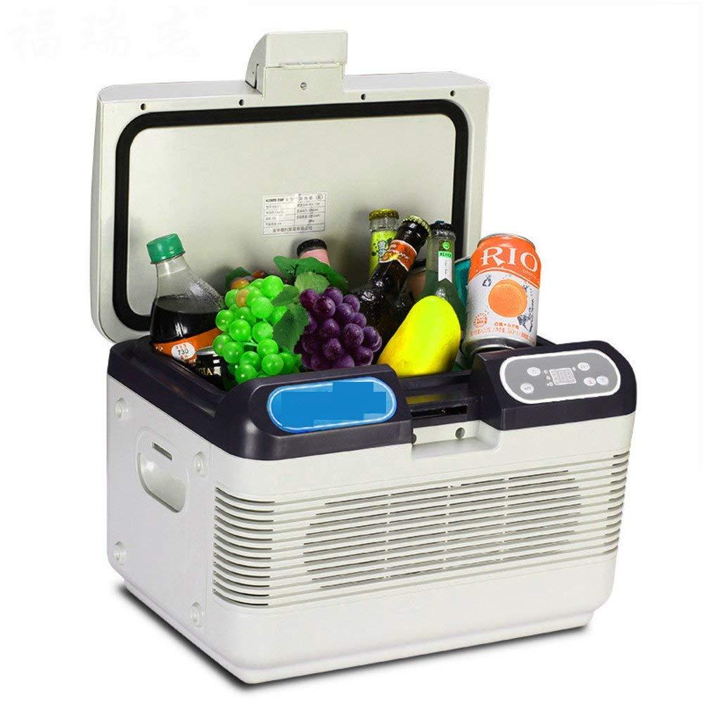 SL&BX 12l dual refrigeration mini refrigerator, 24v car refrigerator car home dual mini fridge adjustable temperature insulin portable kühlteil-A 42x28x30cm(17x11x12inch)