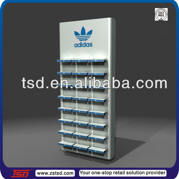 Tsd A081 Custom Retail Store Brand Sport Acrylic Shoe Display Stand
