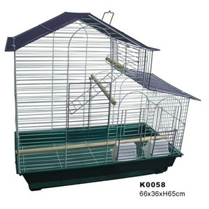 Wholesale Wrought Portable Chinese Large Aluminium Stainless Steel Iron Bird Parrot Cage