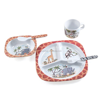 Melamine dinner set for children
