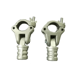All sizes die cast aluminum drop forged scaffold coupler