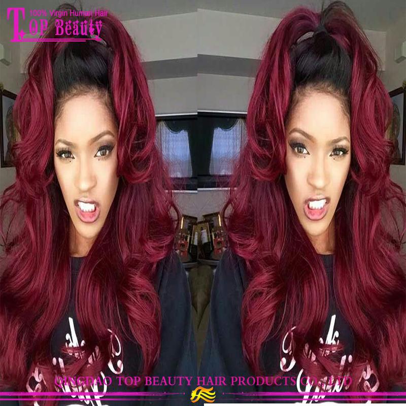 caliente negro cabello rojo