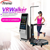 VR Walker shooting HTC vive 9d vr standing up battle game simulator with gun shooting game to achieve multiplayer