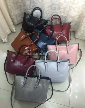 ee860c4ad1aa0a trendy London style simple design wax vintage leather handbags for women  multi-color wax cow
