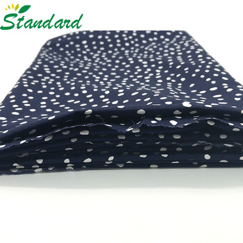 wholesale high quality 100% cotton plain dyed popeline woven fashion poplin fabric