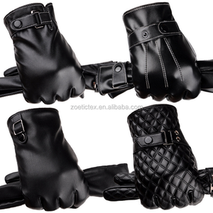 Mens leather race motor bike cycling motorcycle gloves