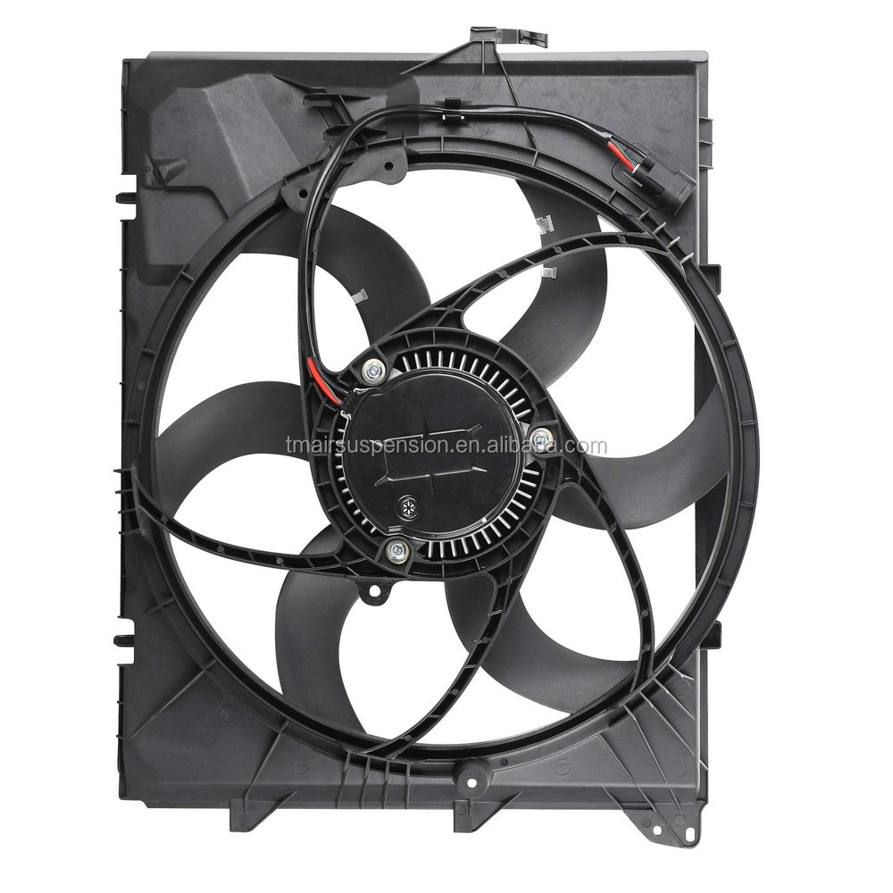 Radiator Cooling Fan Condensor Motor Assembly For B-m-w X1 600w ...