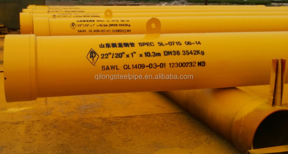 "22"" Fast Make-up Threaded Conductor for Offshore Drilling/ API Standard Steel Pipe with Connector/ Jetting-in Type Conductor"