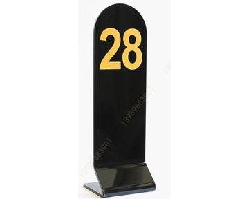 Customized Clear Acrylic Restaurant Table Number Sign Buy Acrylic - Custom restaurant table numbers