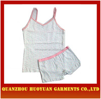 High Quality Causl Korea 100% Cotton Kid Clothes/Sport Wear/Clothing set For Children Wear vest and shorts Wholesale