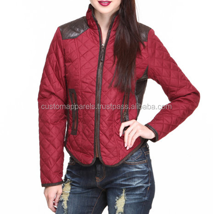 Fashion mens varsity Jacket With diamond quilted from Pakistan