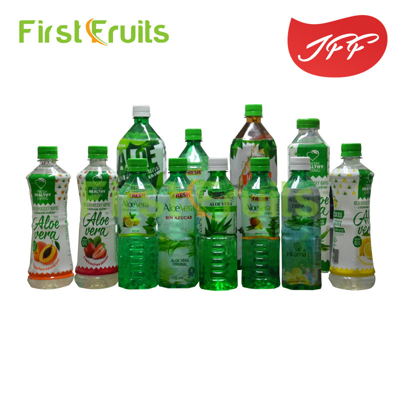 Aloe Vera Juice Drink With Pulps From FIRST <strong>FRUITS</strong>/JFF FACTORY