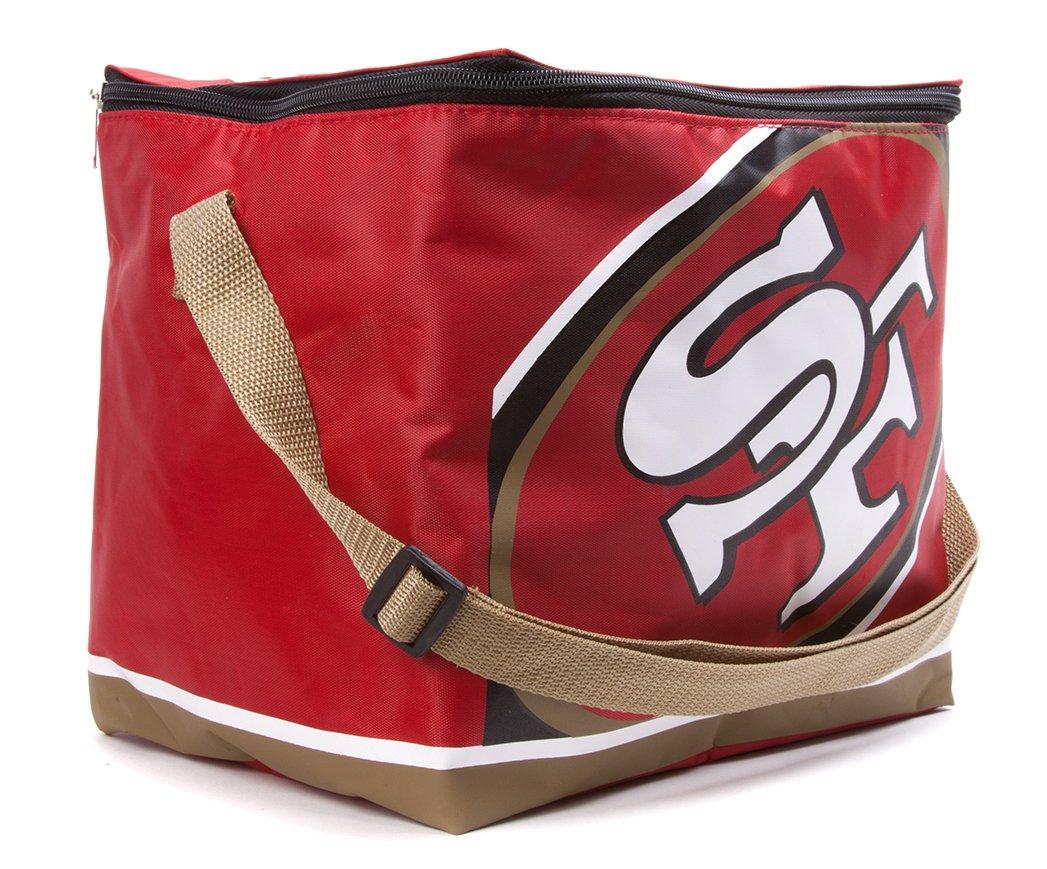 San Francisco 49ers Lunch Bag: 6 Pack Zipper Cooler