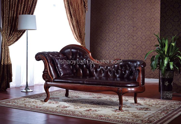 neoclassic chaise lounge/european style recliners chair/french chaise lounge chair : french chaise lounge chair - Sectionals, Sofas & Couches