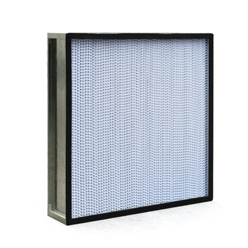 Laboratory H13 H14 Deep Pleated Panel High Efficiency Air Filters TIPO HEPA
